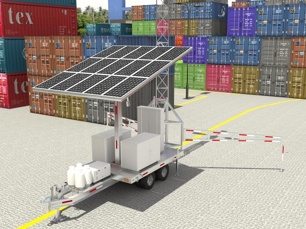 3d-modeling-solar-mobile-tower-kohlex-engineering-services
