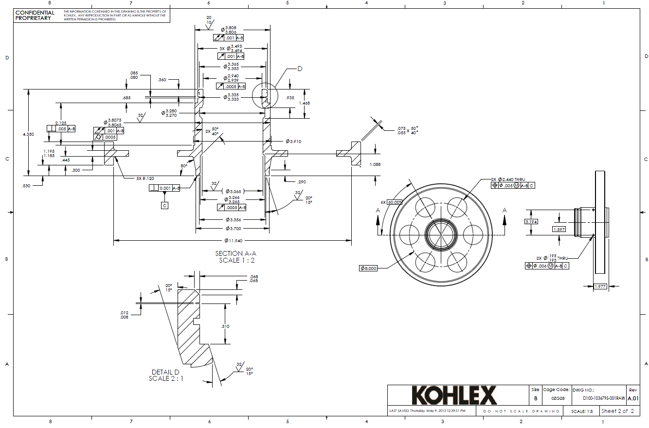 Gdt drawings kohlex gdt manufacturing drawing2 kohlex engineering services buycottarizona